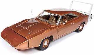 Dodge Charger Daytona 1969 bronze 1:18 Auto World