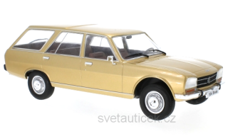 Peugeot 504 Break 1976 gold metallic 1:18 MCG Modelcar Group
