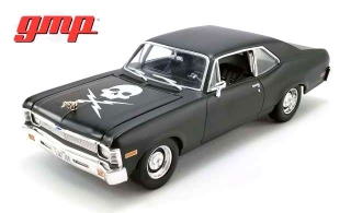 Chevrolet Nova  *Death Proof* 1971 matte black 1:18 G.M.P.