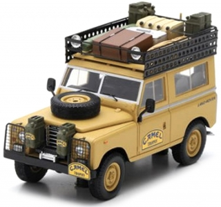 Land Rover 1983 Series III SWB Camel Trophy Zaire 1:43 TSM Model