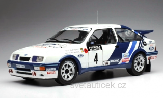 Ford Sierra RS Cosworth #4 Blomqvist/Melander 1000 Lakes Rally 1988 1:18 Ixo Models