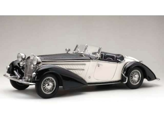 Horch 855 Roadster 1939 black/white 1:18 Sun Star