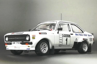 Ford Escort Mk2 RS 1800 #1 Evans/Millington Roger Albert Clark Rally 2009 1:18 Sun Star