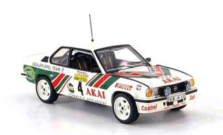 Opel Ascona B 400 #4 Kristiansen/Hartwigsen International Sachs Winter Rallye 1981 1:18 Sun Star