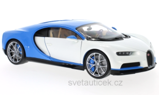 Bugatti Chiron white 1:18 Welly