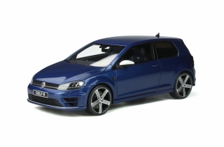 Volkswagen Golf 7R 2014 lapiz blue 1:18 OttOmobile