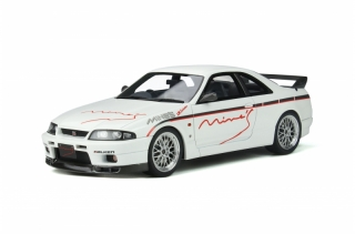 Nissan Skyline Gt-R R33 Mine´S 1998 white 1:18 OttOmobile