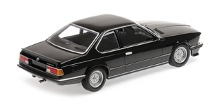 BMW 635 CSI 1982 black metallic 1:18 Minichamps