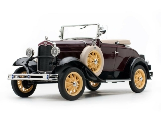Ford Model A Roadster 1931 maroon 1:18 Sun Star