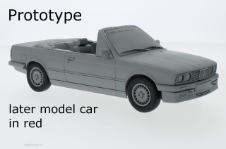 BMW 3rd (E30) Convertible 1985 red 1:18 MCG Modelcar Group