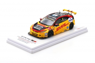 Honda Civic R TCR #9 2018 FIA WTCR Race of Japan Boutsen Ginion Racing Tom Coronel 1:43 TSM Model
