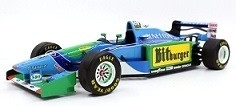 Benetton Ford B194  1994 #6 Johnny Herbert 1:18 GP Replicas