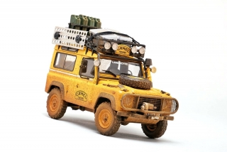 Land Rover 90 Camel Trophy Borneo 1985 *Dirty Version* 1:18 Almost Real