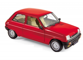 Renault 5 Alpine Turbo 1982 red 1:18 Norev