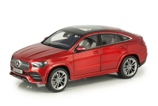 Mercedes-Benz GLE Coupe AMG C167 2020 designo hyazinth red metallic 1:18 iScale