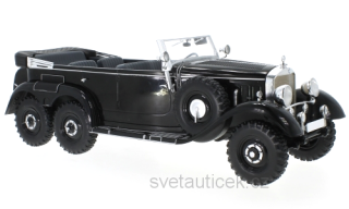 Mercedes G4 W31 1938 black 1:18 MCG Modelcar Group