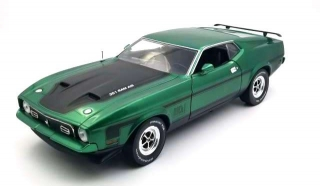 Ford Mustang Mach I 351 Ram Air 1971 graber green 1:18 Sun Star