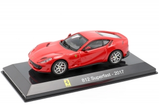 Ferrari 812 Superfast 2017 red 1:43 Altaya