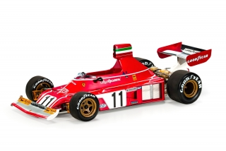 Ferrari F1 312 B3 #11 Clay Regazzoni 1975 1:18 GP Replicas
