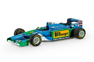 Benetton F1 B194 Ford #6 Jos Verstappen 1994 1:18 GP Replicas
