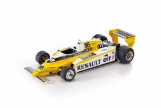 Renault F1 RE20 Turbo #16 R. Arnoux 1980 1:18 GP Replicas