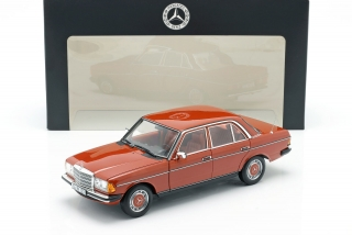 Mercedes-Benz 200 W123 english red 1:18 Norev