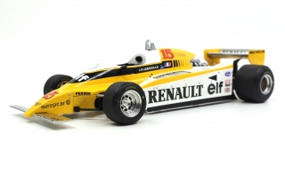 Renault F1 RE20 Turbo #15 J.P.Jabouille 1980 1:18 GP Replicas