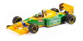 Benetton Ford B193 Michael Schumacher Winner Portugal GP 1993 1:18 Minichamps