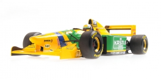 Benetton Ford B193 Ricardo Patrese 3rd British GP 1993 1:18 Minichamps
