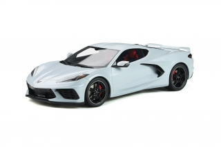 Chevrolet Corvette C8 2020 ceramic grey metallic 1:18 GT Spirit