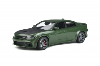Dodge Charger SRT Hellcat Widebody 2020 green 1:18 GT Spirit