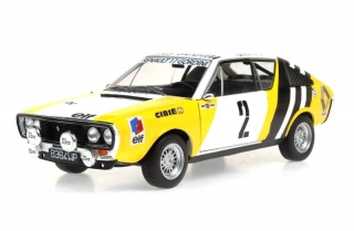 Renault 17 #2 B.Krupa Winter Rally Russland 1976 1:18 Solido