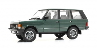 Range Rover Classic Vogue 1990 green metallic 1:18 Cult Scale Models
