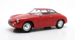 Alfa Romeo Giulietta Sprint Zagato 1961 red 1:18 Cult Scale Models