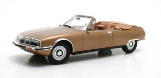 Citroen SM Mylord by Henry Chapron 1971 gold 1:18 Cult Scale Models