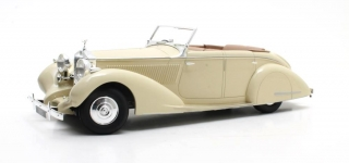 Rolls-Royce 25-30 Gurney Nutting All Weather Tourer #GR048 H.H. Maharadja of Darbhanga 1937 ivory 1:18 Cult Scale Models
