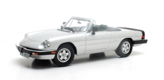 Alfa Romeo Spider III  '86-'89 silver 1:18 Cult Scale Models