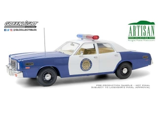 Plymouth Fury *Osage County Sheriff* 1975 1:18 Greenlight