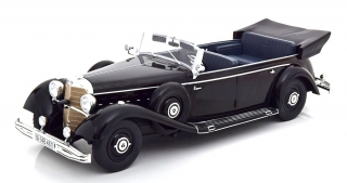 Mercedes 770 W150 Convertible 1938 black 1:18 MCG Modelcar Group