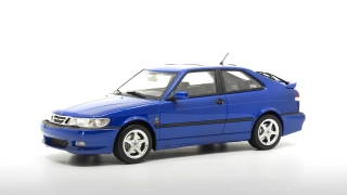 Saab 9-3 Viggen Coupe 2000 blue 1:18 DNA Collectibles
