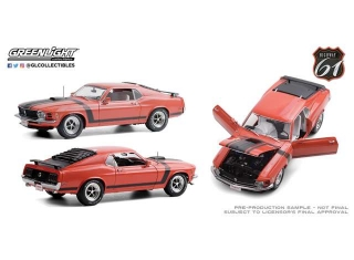 Ford Mustang BOSS 302 Fastback Scottsdale 2019 Lot #790 1970 calypso coral 1:18 Highway 61