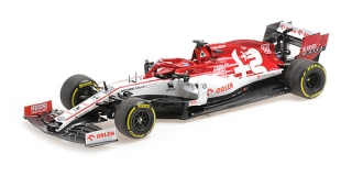 Alfa Romeo Racing F1 C39 Robert Kubica Testing Session 19.02.2020 1:18 Minichamps