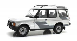 Land Rover Discovery 2-Series 1989 silver metallic 1:18 Cult Scale Models