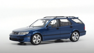 Saab 9-5 Sportcombi 2005 cosmic blue 1:18 DNA Collectibles