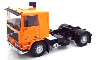 Volvo F10 Turbo 6 Tractor Truck 2-Assi with Decal Set 1977 orange/black 1:18 Road Kings