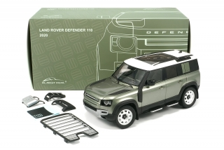 Land Rover Defender 110 with Roof Pack 2020 pangea green 1:18 Almost Real