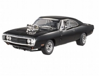 Dodge Charger RT Fast & The Furious 1970 black 1:18 HotWheels