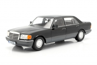 Mercedes-Benz S-Class 560SEL W126 2S 1985 black 1:18 iScale