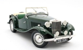MG TD Spider British racing green 1:18 Cult Scale Models