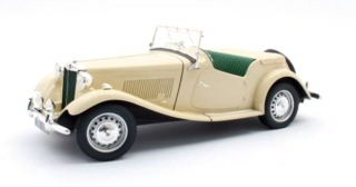 MG TD Spider Cream 1:18 Cult Scale Models